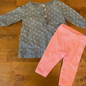 Carter's 2pc Outfit